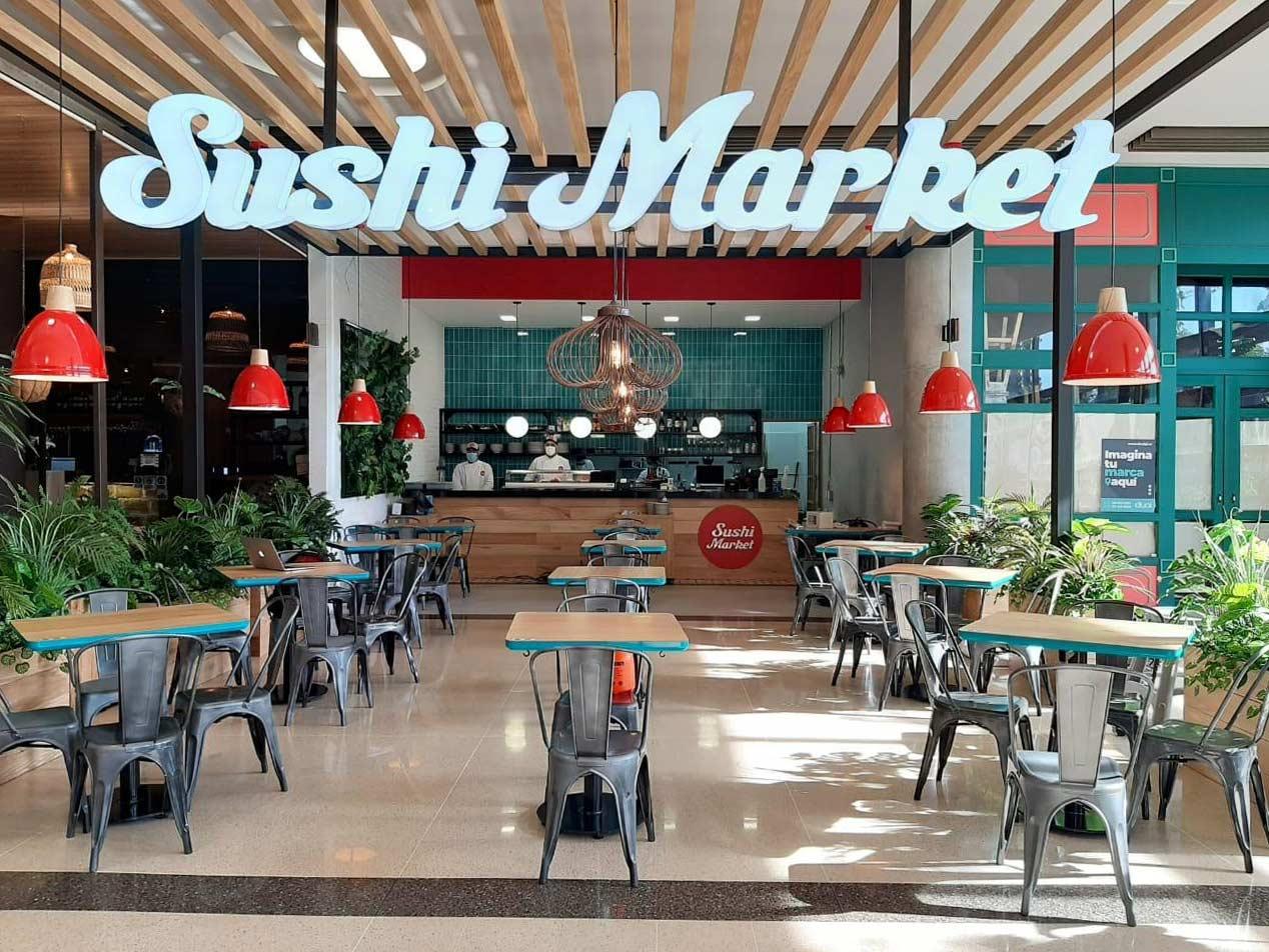 Sushi Market - Restaurante Jardines Llanogrande